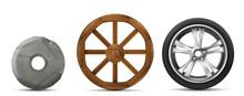 Wheels Evolution From Primitiv...