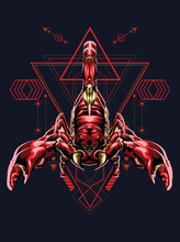 Zodiac Vector Illustration Red...