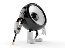Speaker Character With Broken ...