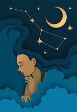 Sweet Dreams Vector Illustrati...