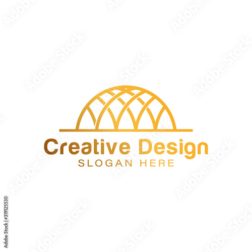 Fotografie, Tablou dome logo Ideas