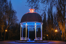 The Rotunda In The Park. Night...