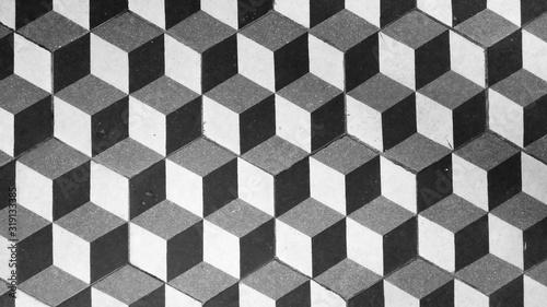 Obraz Full Frame Shot Of Tiled Floor - fototapety do salonu