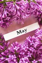 Wooden Calendar Spring Month O...