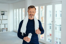 Fit Healthy Mature Man After A...
