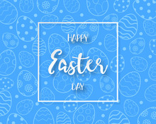 Happy Easter Day Background Pa...