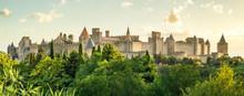 Image Carcassonne Bei Sonnenaufgangdescription