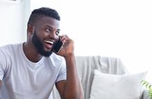 Talkative African American Man...