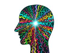 Disegno Grafico Neurologia. Sistema Nervoso.