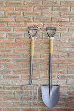 Shovel And Hay Fork. Hang On T...