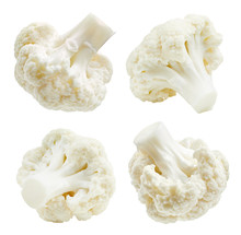 Cauliflower Isolated On White ...