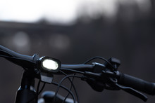 Bicycle With Front Light