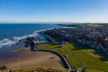 St Andrews Town And Beach.