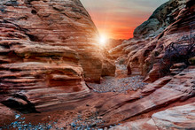 The Mesmerizing Red Rock Layer...