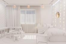 3d Render Of The Kid Bedroom I...