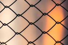 A Wallpaper Of The Fence With ...
