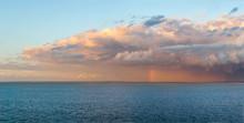 Panoramic Image Of A Heavy Rai...