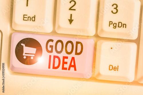 Valokuva Word writing text Good Idea