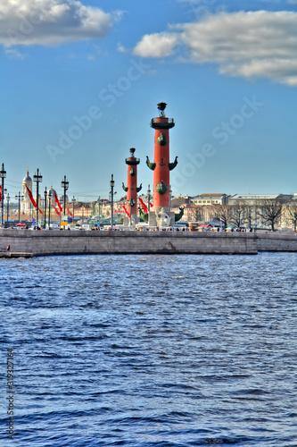 Panorama Sankt Petersburga w Rosji