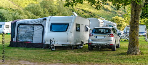 Obraz Camping - fototapety do salonu