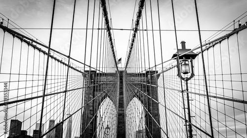brooklyn bridge in new york Canvas Print