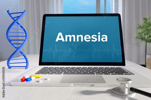 Amnesia – Medicine/health Canvas Print