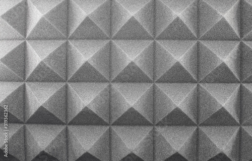 Noise absorbing material, soundproofing, sound acoustical foam Wallpaper Mural