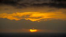 Sunset Over Kynance Cove, Cornwall,UK