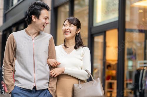 ショッピング 買い物 Fotobehang