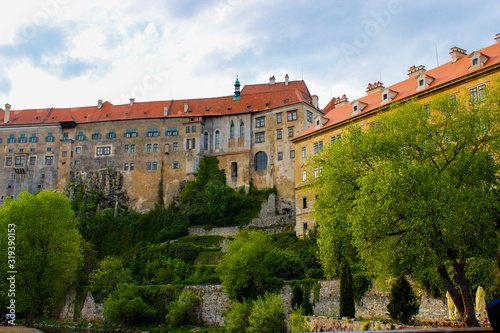 Photo Facade of the State Castle of Cesky Krumlov (or Cesky Krumlov Castle), residence