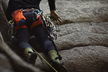 Climbing Equipment On The Harn...
