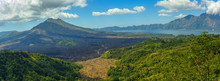 Panorama Of Famous Volcano Gun...