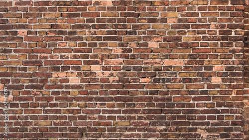 Fototapeta cegła  beautiful-old-brick-wall-an-ancient-barn-wall-brick-wall-background-texture