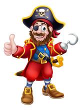 Pirate Cartoon Character Capta...