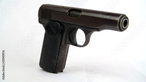 FN Browning Model 1910 Automatic Pistol Wallpaper Mural
