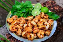 Shrimp Fried With Garlic Salt ...