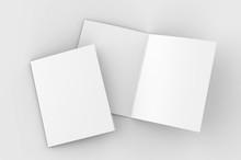 Blank Bi Fold Card Template, 3...