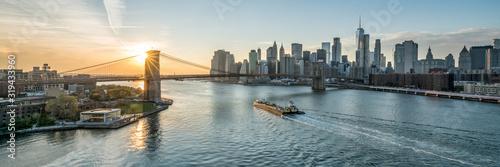 Fototapeta New York City panoramic view obraz
