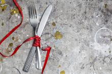 Silver Kitchen Cutlery Fork An...