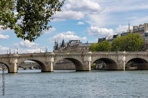 Carta da parati Pont neuf à Paris