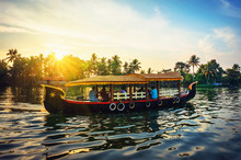 Traditional Indian Boat .Keral...