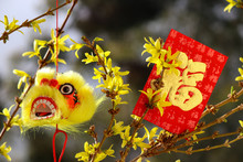 Lunar New Year Decoration With...
