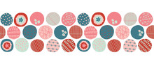 Colorful Dots Seamless Vector ...