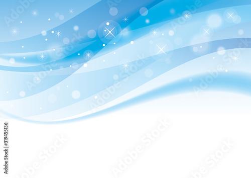 抽象 曲線 背景 青 #319455136