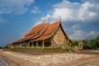 Leinwanddruck Bild Thailand Phu Phrao Sirindhorn Ubon Ratchathani The Buddhist building landmark or Church Buddhist