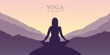 Yoga For Pregnant Women Silhou...