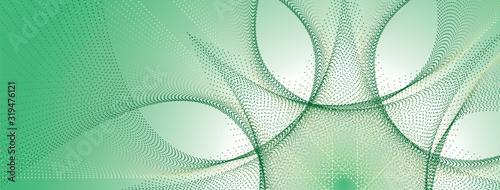 Fotografia Copertina fiore geometrico, copertina social, benessere, natura