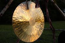Gong In Sunlights Waiting For Pagan Rituals