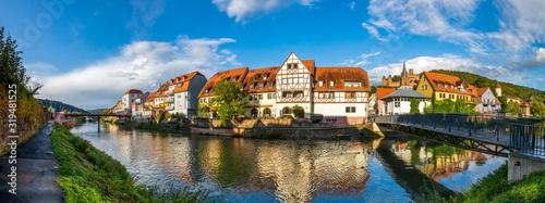Altstadt, Wertheim, Deutschland