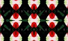 Colorful Abstract Kaleidoscope Ornamental Texture Background